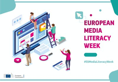 European Media Literacy Week Visual Identity 01