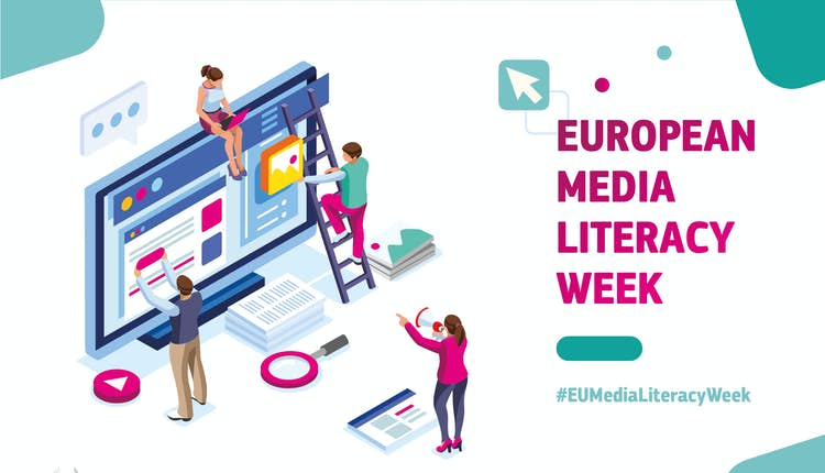 European Media Literacy Week Visual Identity 01