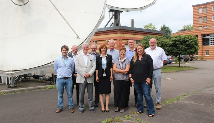 The ALIA team visits POST Luxembourg